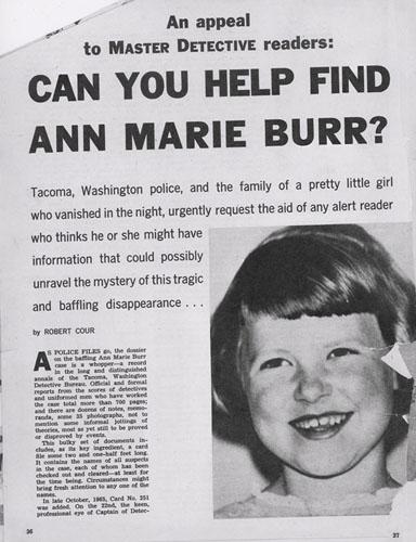 Ann Marie Burr - age 8